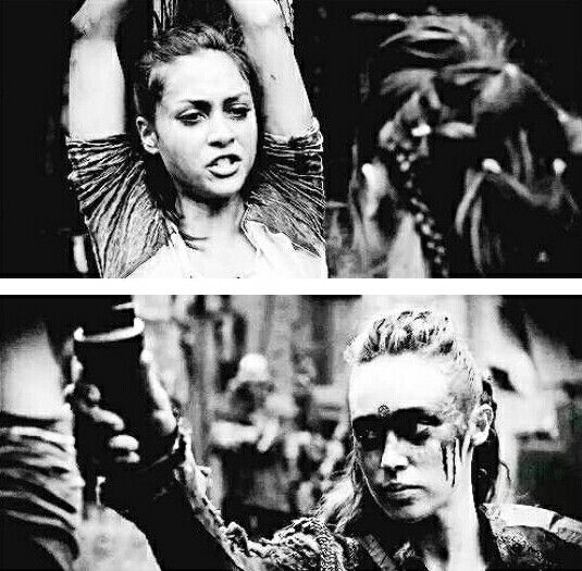 Raven and Lexa #The100