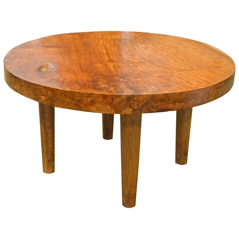 Mid-Century Style Organic Teak Wood Coffee Table | From a unique collection of antique and modern coffee and cocktail tables at https://www.1stdibs.com/furniture/tables/coffee-tables-cocktail-tables/