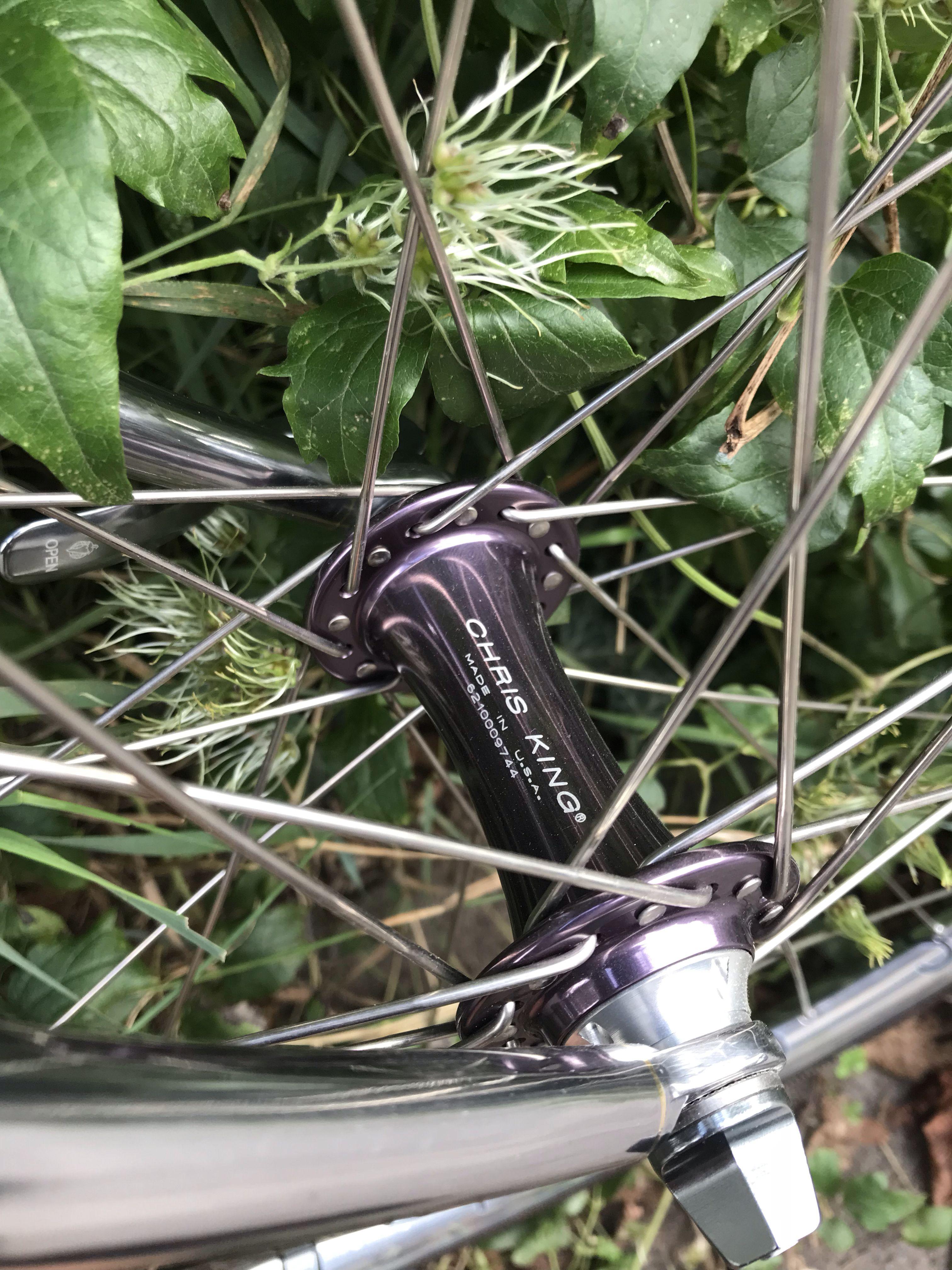 Chris King R45 Vorderradnabe Rad Fahrradzubehor Ersatzteile