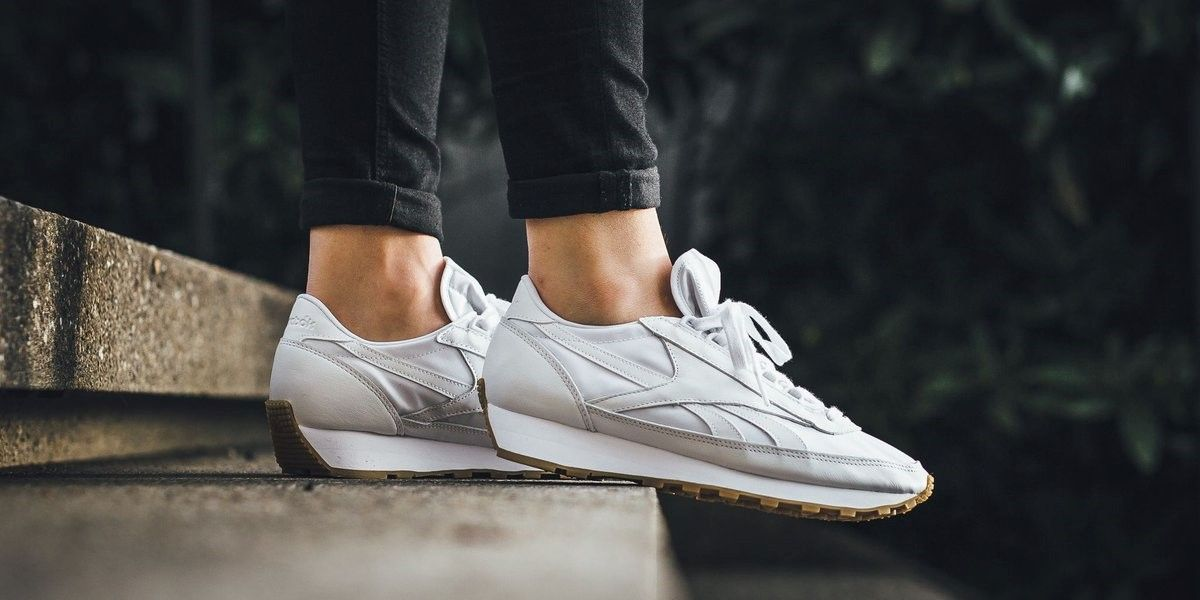 The Reebok Classic Aztec Garment and Gum trainers   sneaker Shoes in White  are available at 0fcbb048a