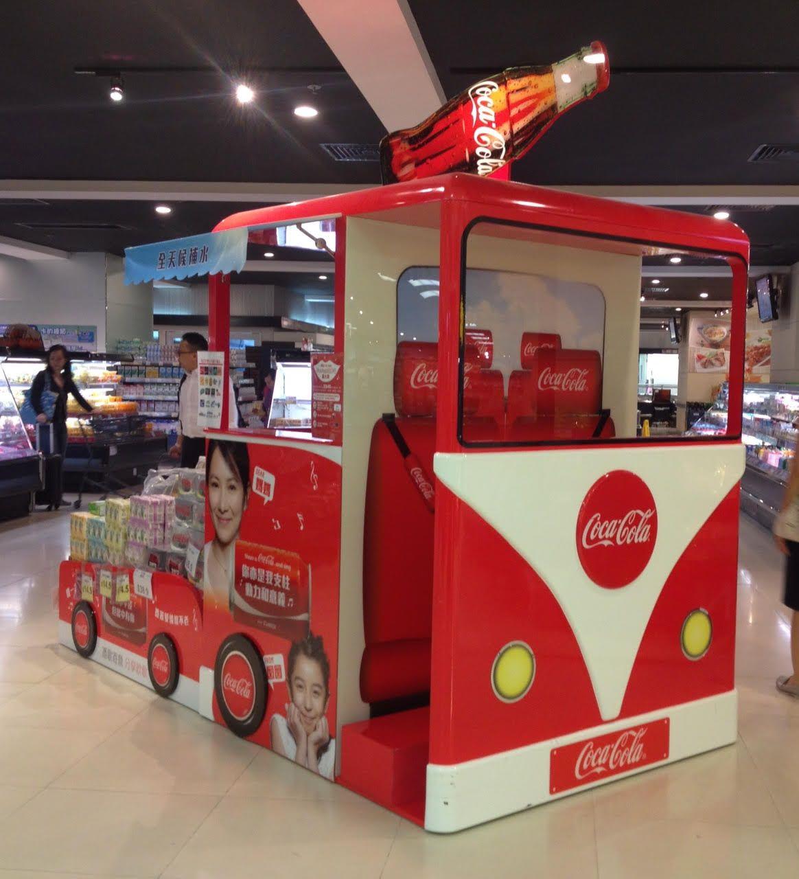 cocacola promo cart pop design the o jays cocacola promo cart