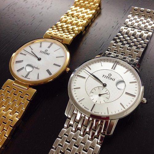 đồng hồ có mặt kính sapphire