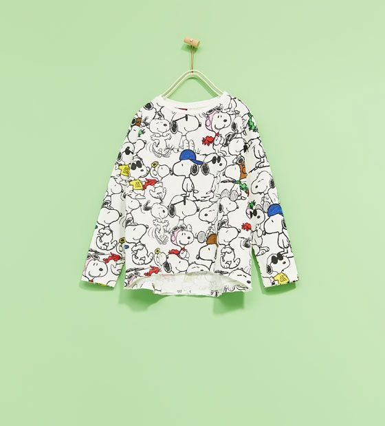 Image 2 of SNOOPY T-SHIRT from Zara