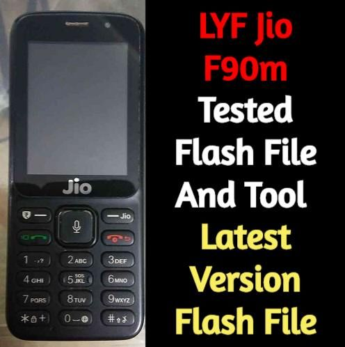 LYF Jio F90m Tested Flash File And Tool | How To Flash Jio F90m If