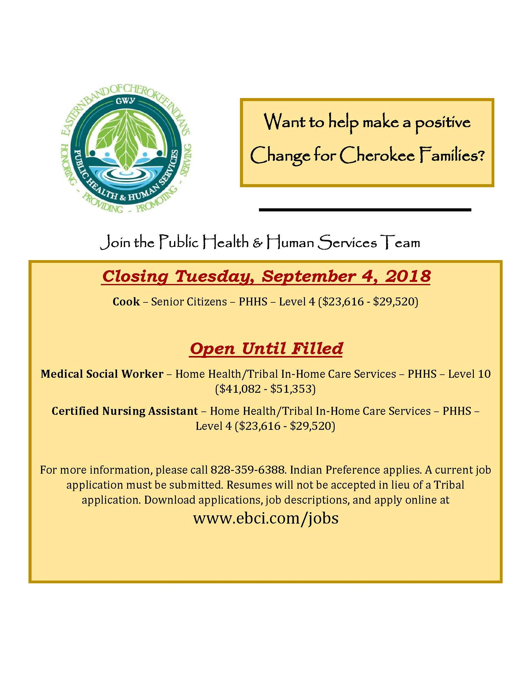 Jobs with images nursing assistant human services