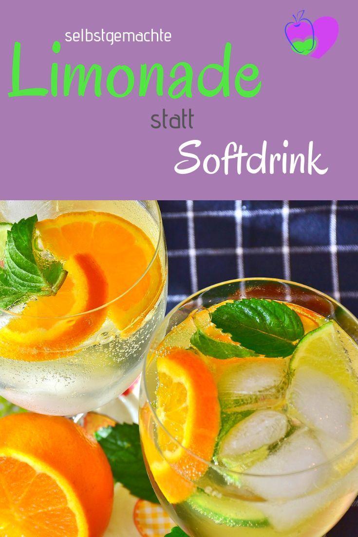 Hausgemachte Limonade statt Erfrischungsgetränk   - Healthy und Fit -