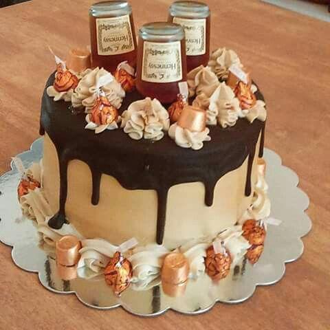 Hennessy Henny Cake Cake Ideas Hennesy Cake 21st