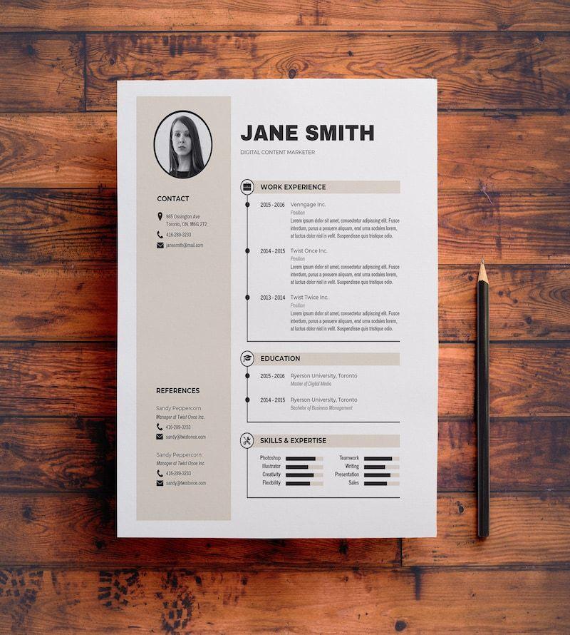 Check your resume using jobscanco in 2020 resume design