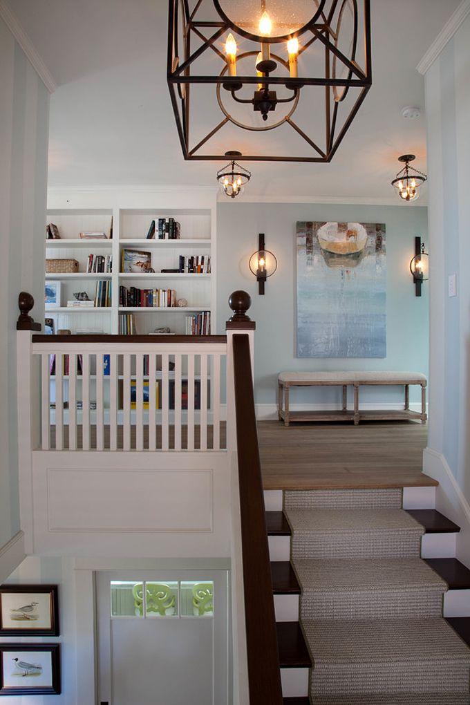 kim grant design stairways home decor home renovation landing decor. Black Bedroom Furniture Sets. Home Design Ideas