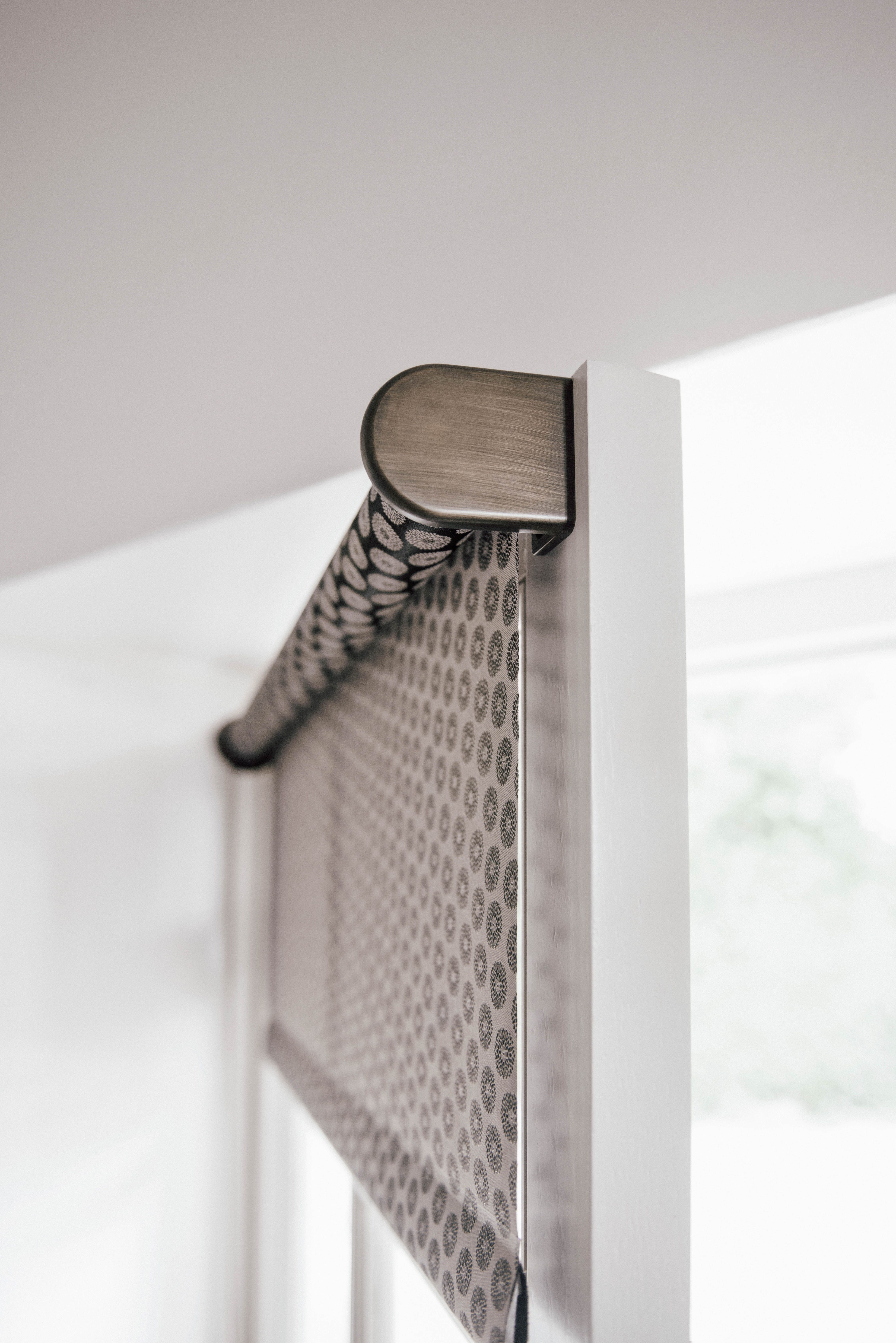 Roller Shades Displaying The Regular Roll Type Shown In Material