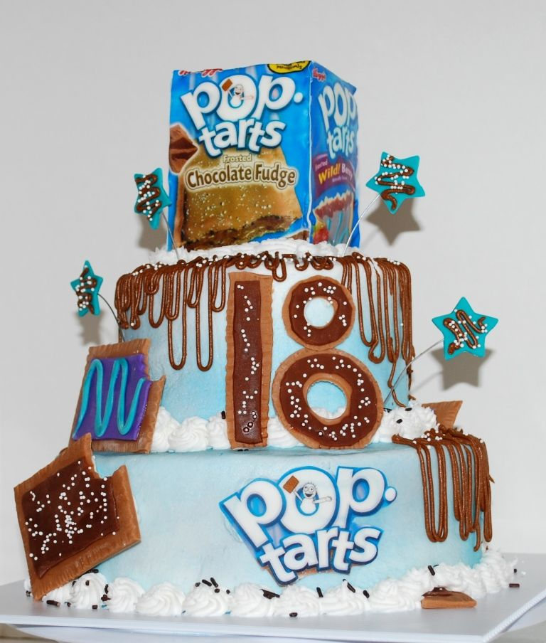 Pop Tart 18th Birthday Cake NutMeg Confections