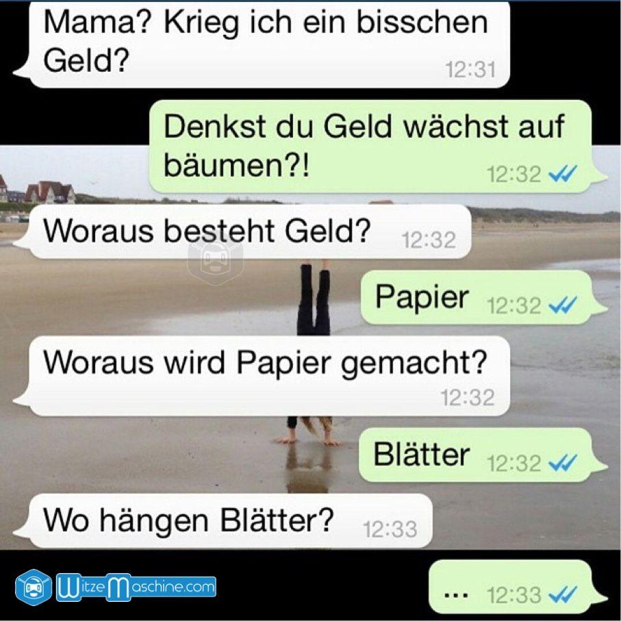 Lustige WhatsApp Bilder und Chat Fails 73 , Geld