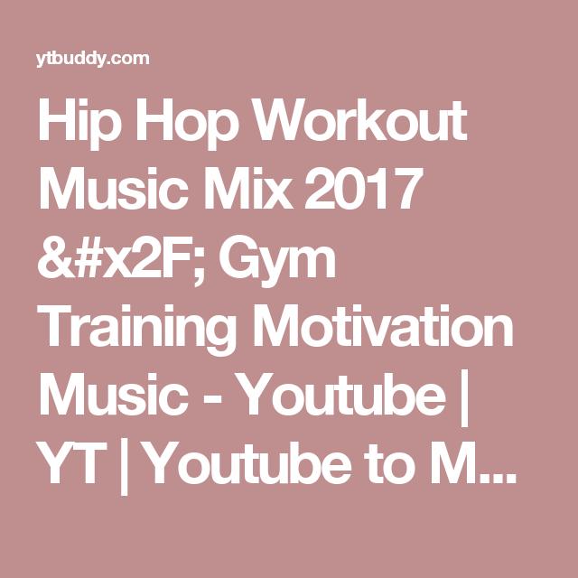 Hip Hop Workout Music Mix 2017 / Gym Training Motivation