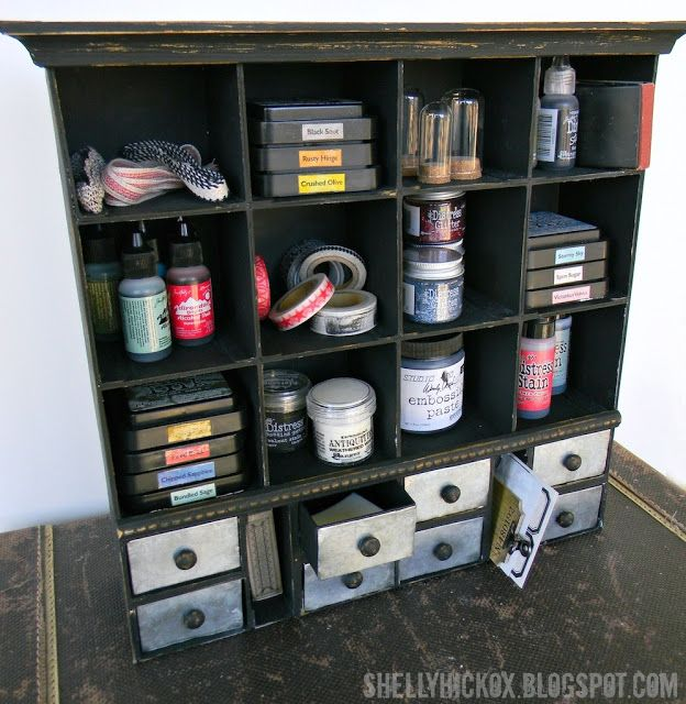 Stamptramp: Sizzix ScoreBoards Apothecary Cabinet
