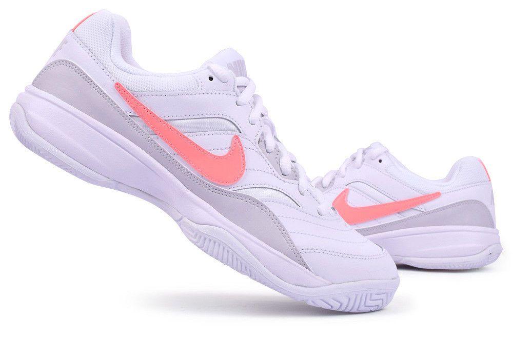 Nike Court Lite Women S Tennis Shoes White Pink Racket Racquet Nwt 845048 113 Tennis Shoes Sneakers Womens Tennis Shoes Mens Tennis Shoes Sneakers