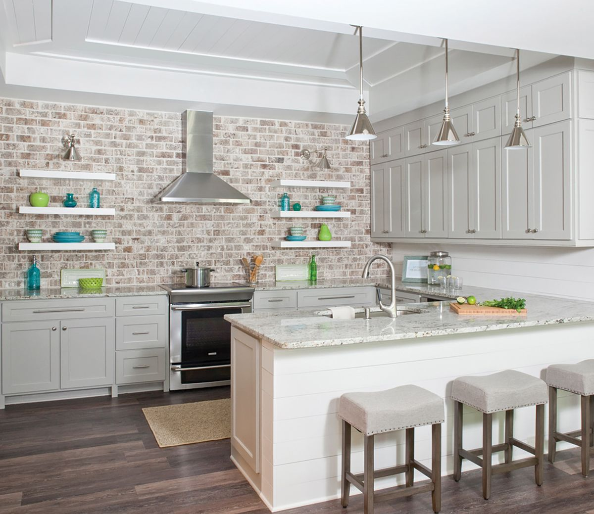Kitchen Cabinets Or Open Shelving We Asked An Expert For The Pros And Cons Rustic Kitchen Design Rustic Kitchen Kitchen Interior