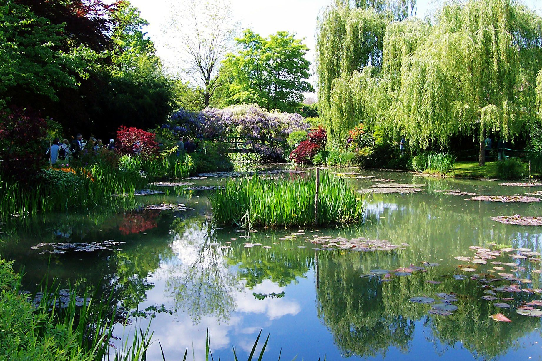 Giverny france beautiful places pinterest for Monet s garden france