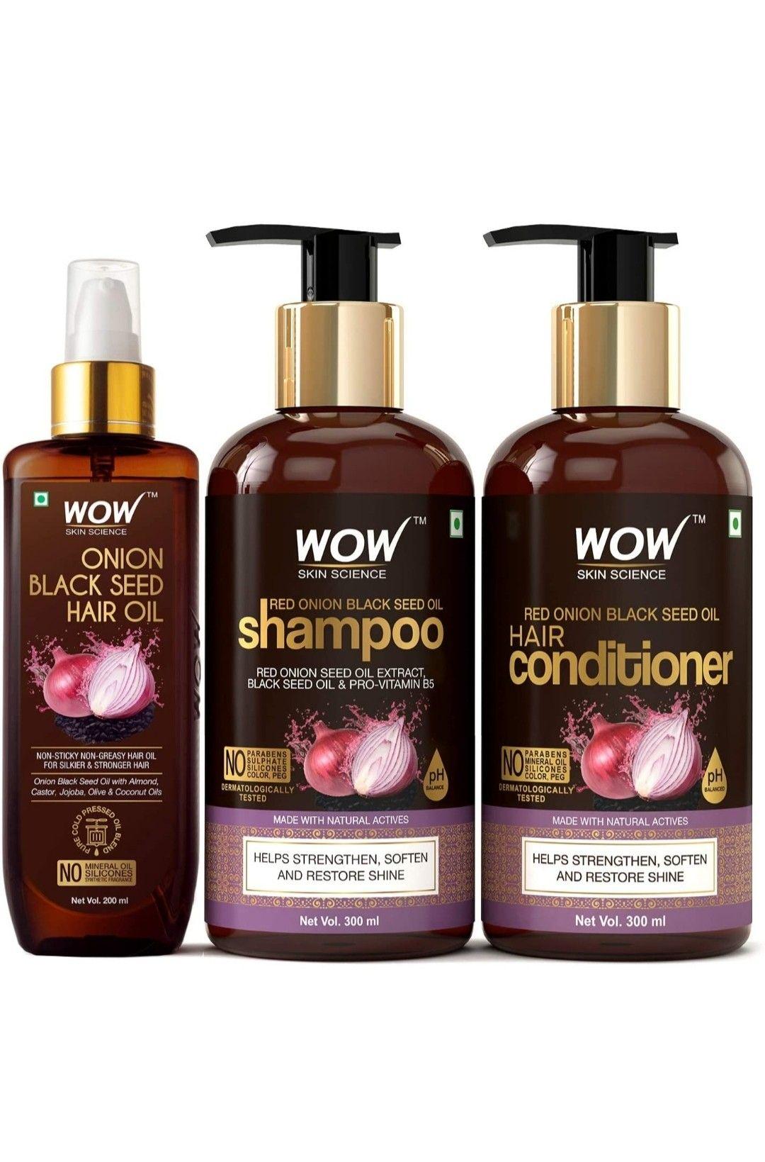 Skin Science Onion Black Seed Oil Ultimate Hair Care Kit