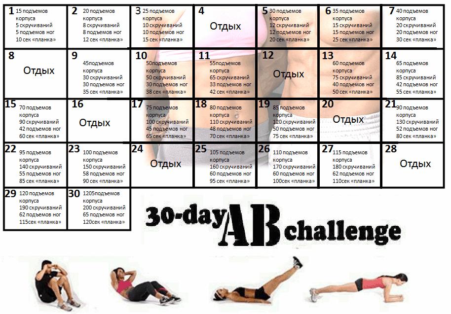 Тренировочный День Для Похудения. 5 самых эффективных программ похудения за месяц