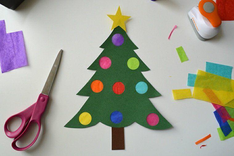 Decoration De Noel En Papier Origami Ou Kirigami Origami