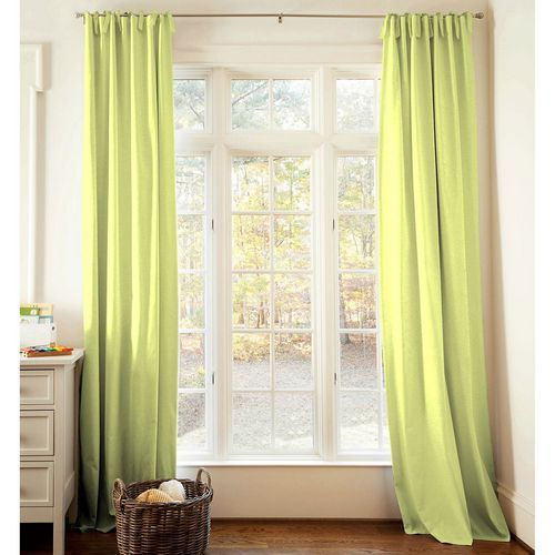 Green Curtains For Nursery Or Toddler