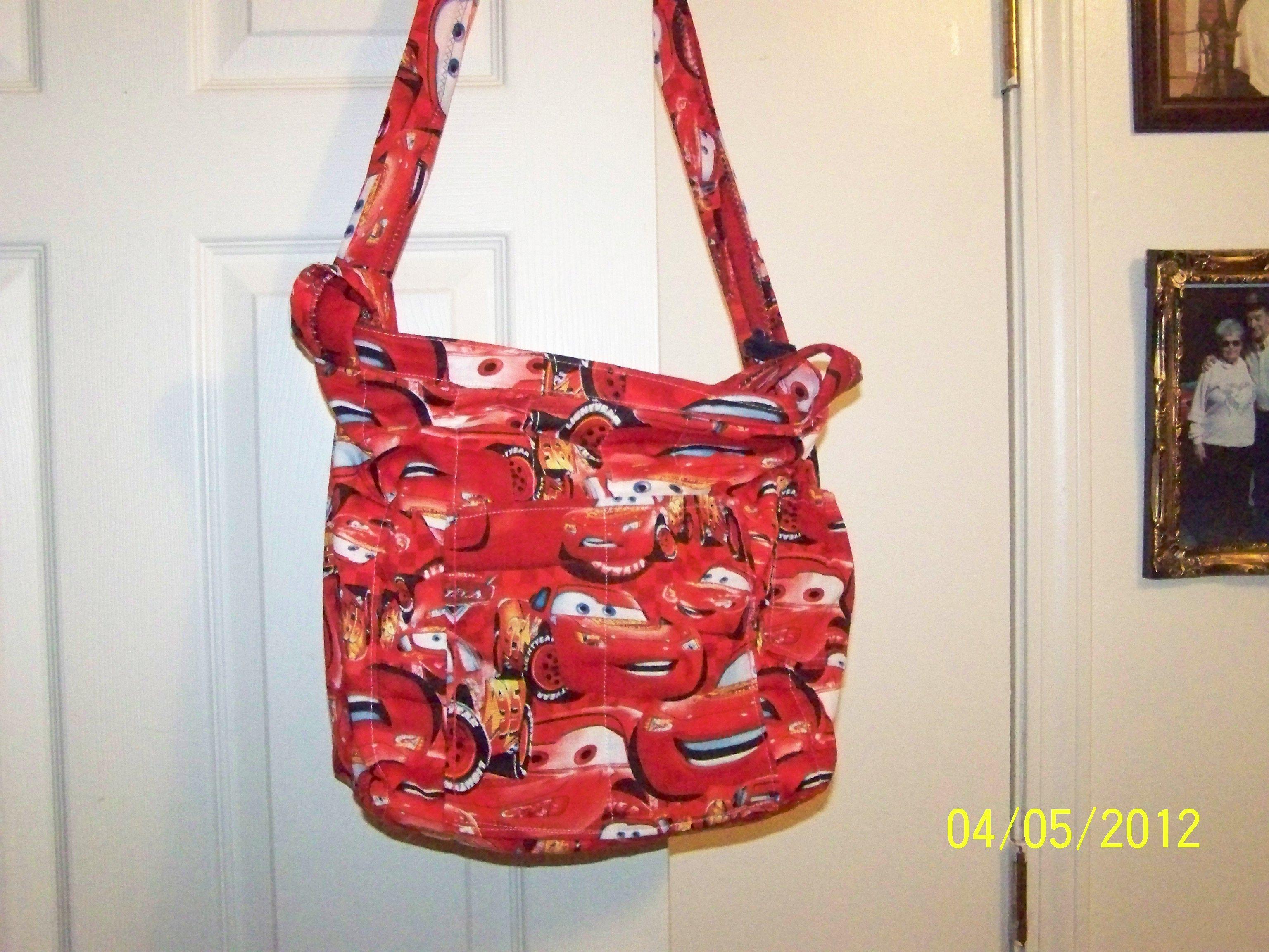 Rylens Cars Diaper Bag I Made