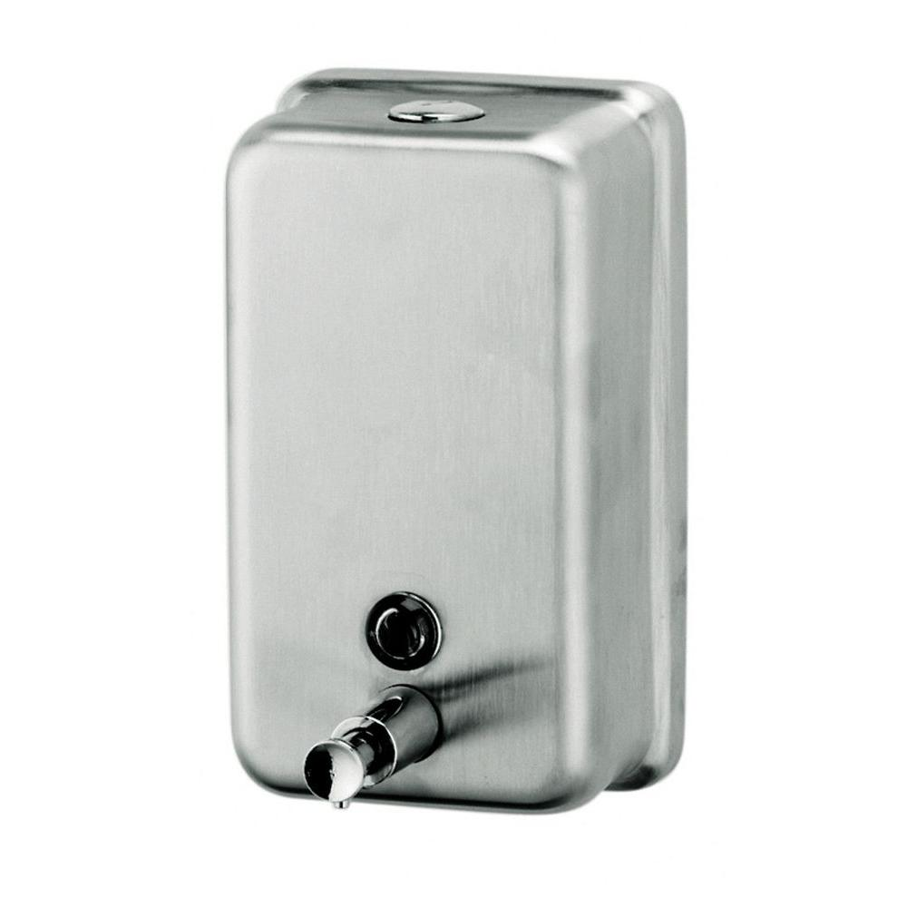 Vertical Liquid Soap Dispenser In Silver Lsv Liquid Soap Soap