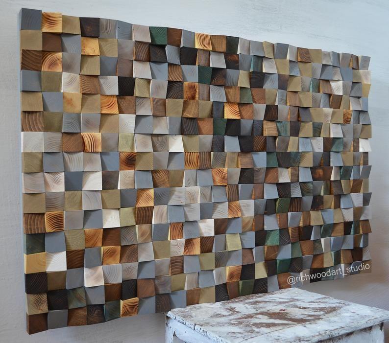 Spring Awakening Scandinavian Wood Wall Art Modern Wood Etsy In 2020 Wood Art Wood Wall Sculpture Wood Wall