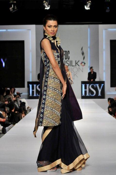 HSY Designer Party Dresses 2012