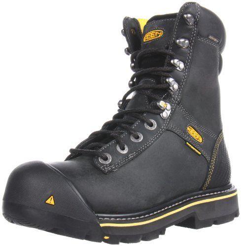 Keen Utility Men S Wenatchee 8 Inch Soft Toe Work Boot