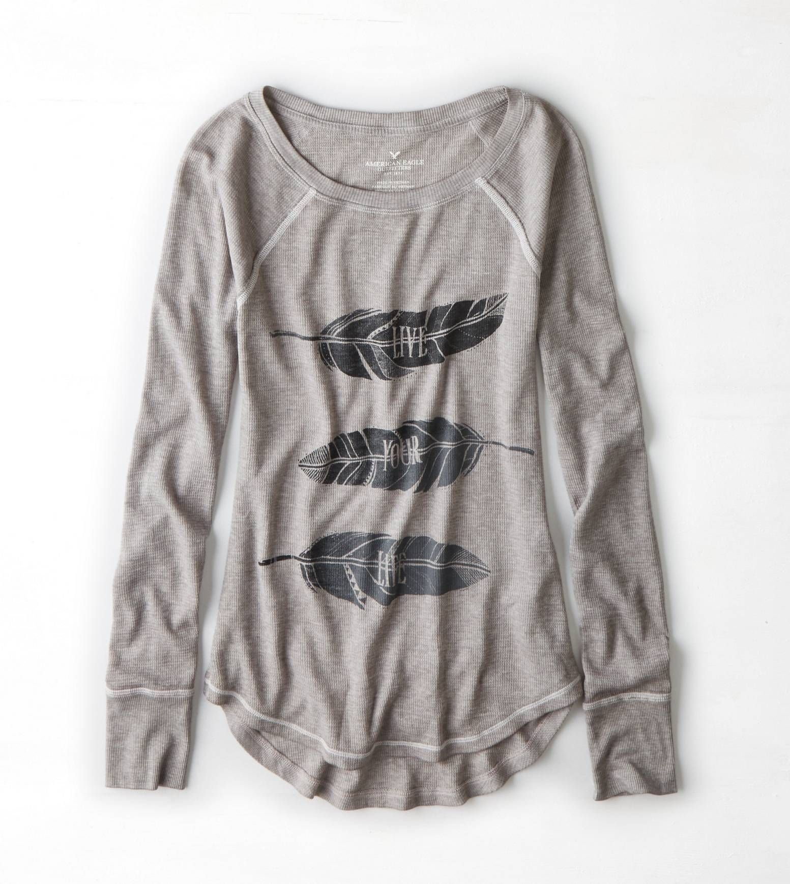Grey Mist Thermal Graphic :: live your life