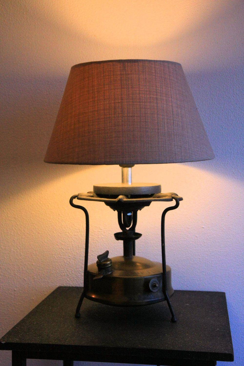 Table Lamp Optimus Copper Jug Lamp 1930 S Vintage Dutch Design Unique Accent Light Upcycling Gift Present Gas Ligh Lamp Copper Table Lamp Table Lamp