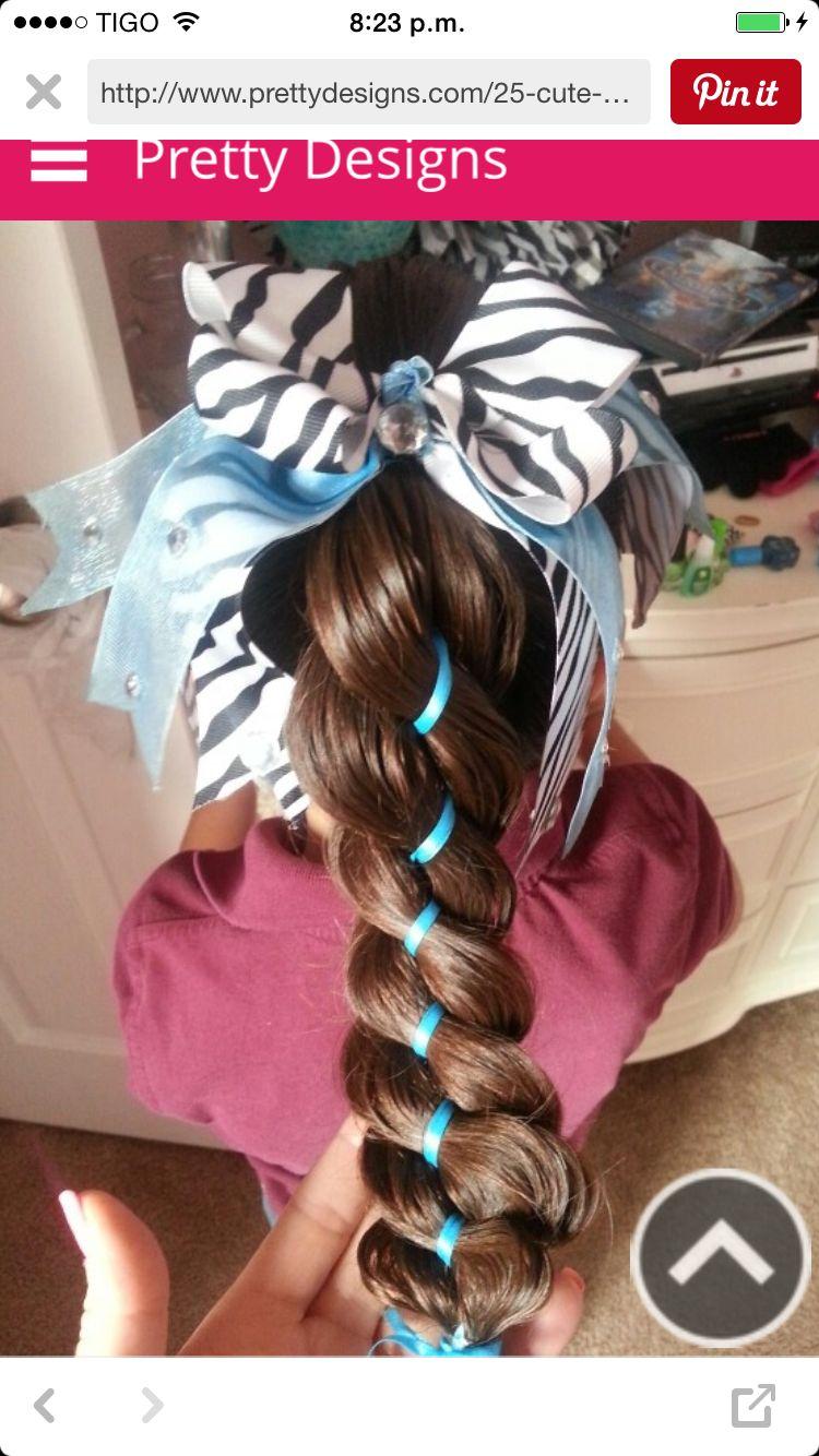 Pin by amanda on hair bows pinterest hair kids easy hairstyles
