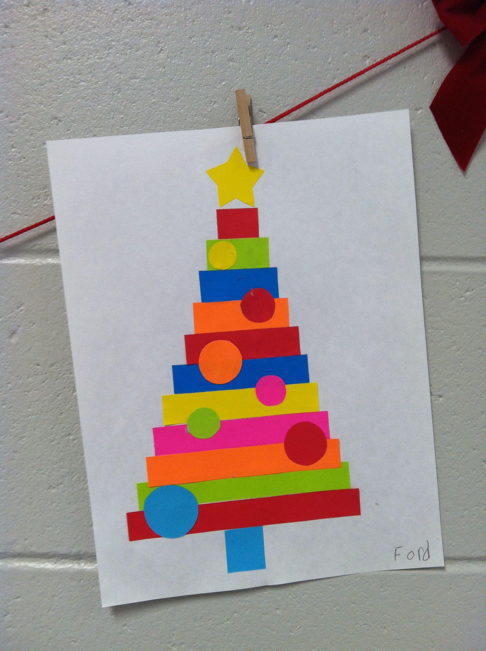 Christmas tree paper craft christmas pinterest christmas tree