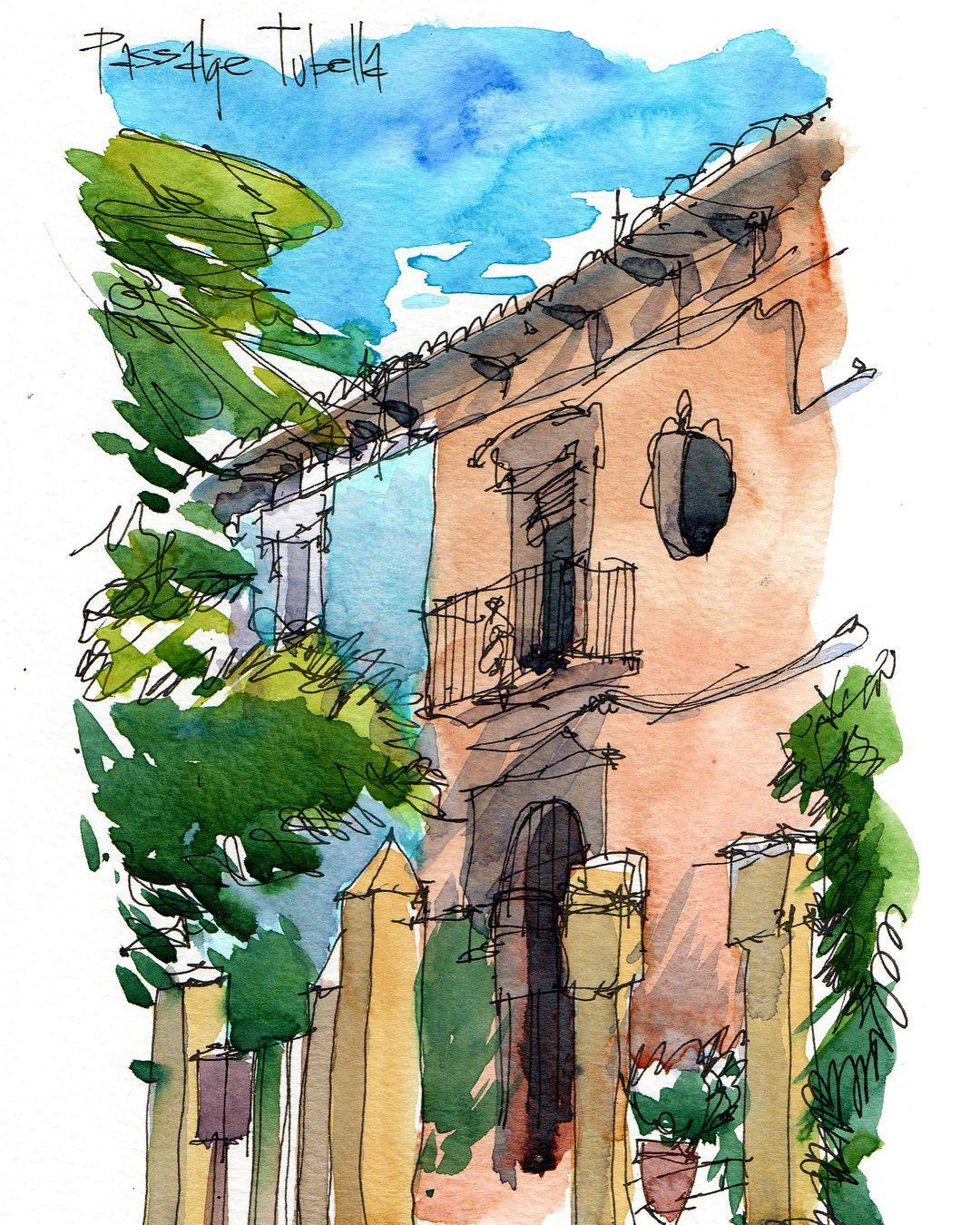 Pin By Jennifer Branch Artist On Sketchbooks Watercolor