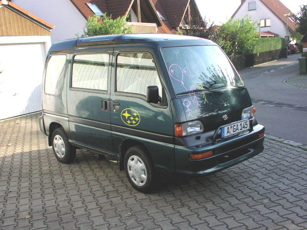 Subaru Sambar Subaru Mini Van Van
