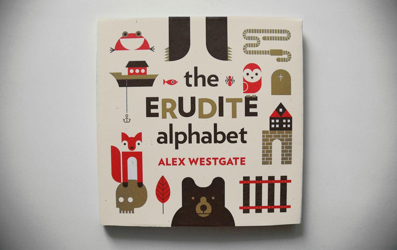 The Erudite Alphabet by Alex Westgate