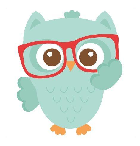 owl nerdy boy 03 14 15 01 clipart owls pinterest owl clip rh pinterest com Brown Owl Clip Art Owl in Tree Clip Art
