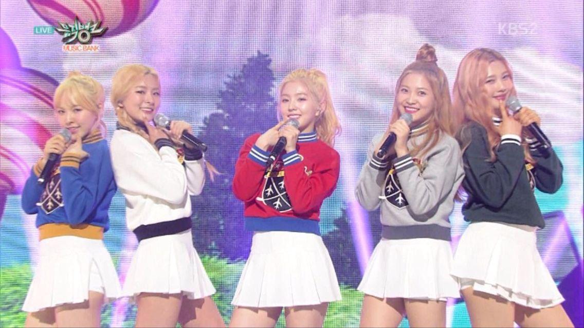 Red Velvet - Ice Cream Cake(Music Bank)