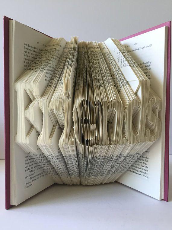 Friends Book Fold Book Sculpture Friends Sculpture