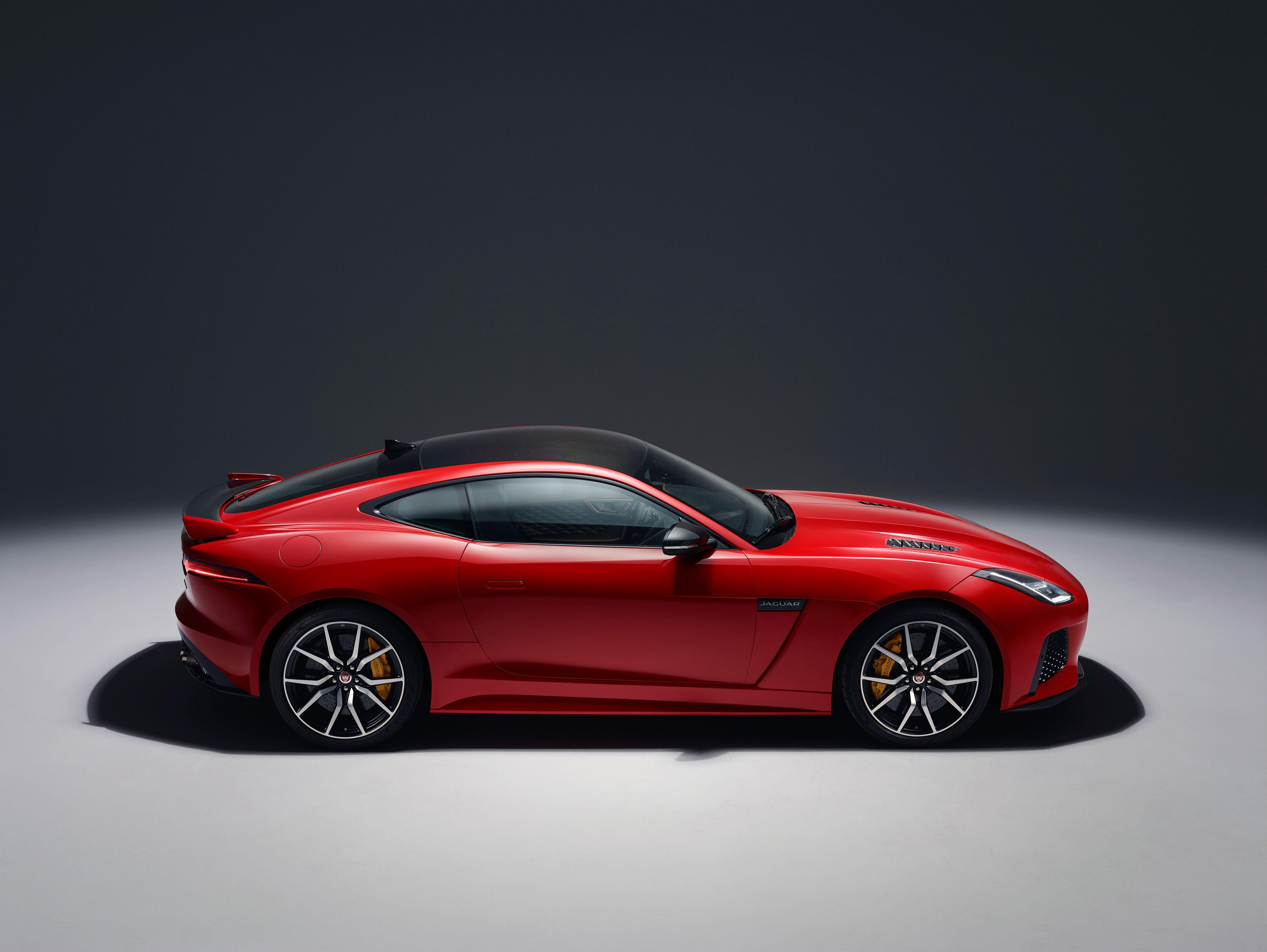 2018 Jaguar F Type Svr The Jaguar 2018 Ftype Svr Has Been Unveiled Jaguar F Type Jaguar Coupe