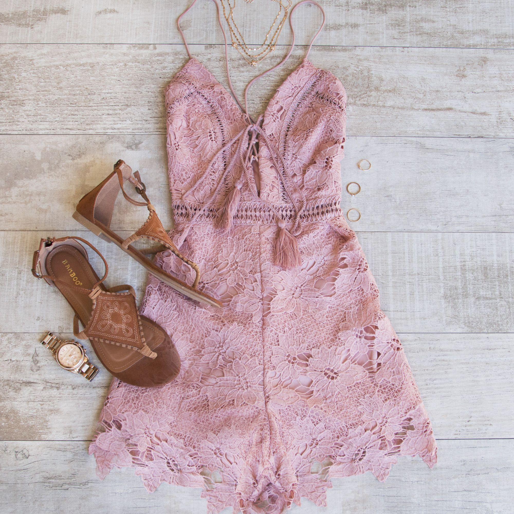 Wildflower Crochet Romper | Vestiditos, Zapatos y Accesorios