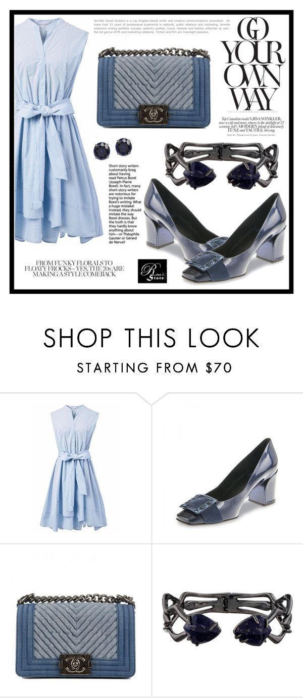 """""""RinaStore #51 / III"""" by amra-sarajlic ❤ liked on Polyvore featuring Chicwish, Fabi, Chanel, Alexis Bittar, rinastore and rinasboutique"""