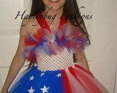 4th of july tutu dress 3t to size 9