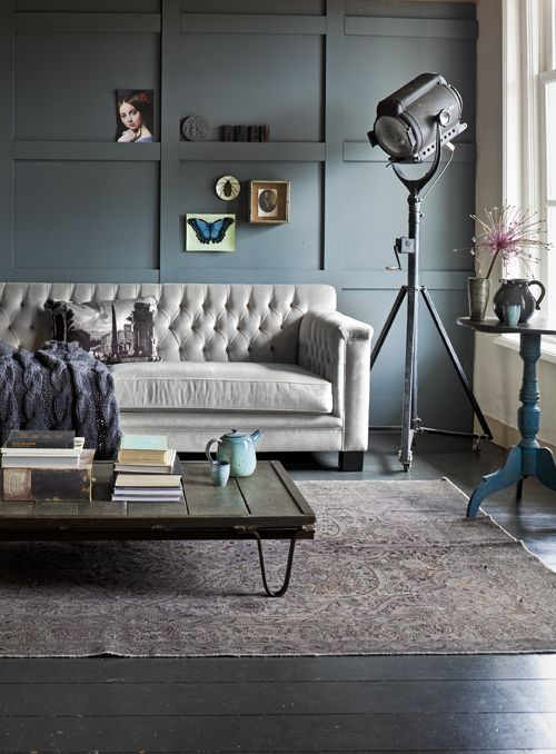 Wondrous Interior Design Sofa Trimmed Walls Spotlight Vintage Pdpeps Interior Chair Design Pdpepsorg