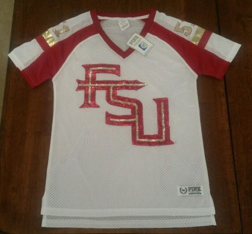 Victoria's Secret PINK Florida State FSU jersey shirt NWT  http://dlvr.it/Mc4Pvy - http://Ebaypic.twitter.com/PiU5WIPiry