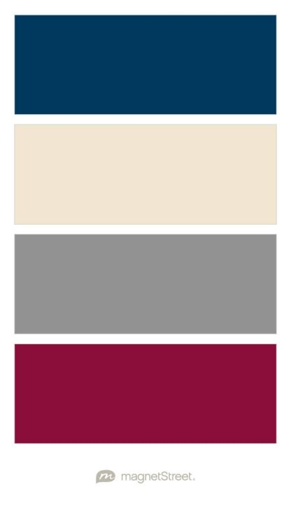 Navy Champagne Classic Gray And Burgundy Wedding Color Palette Custom Color Palette Crea Burgundy Wedding Colors Navy Wedding Colors Wedding Color Palette