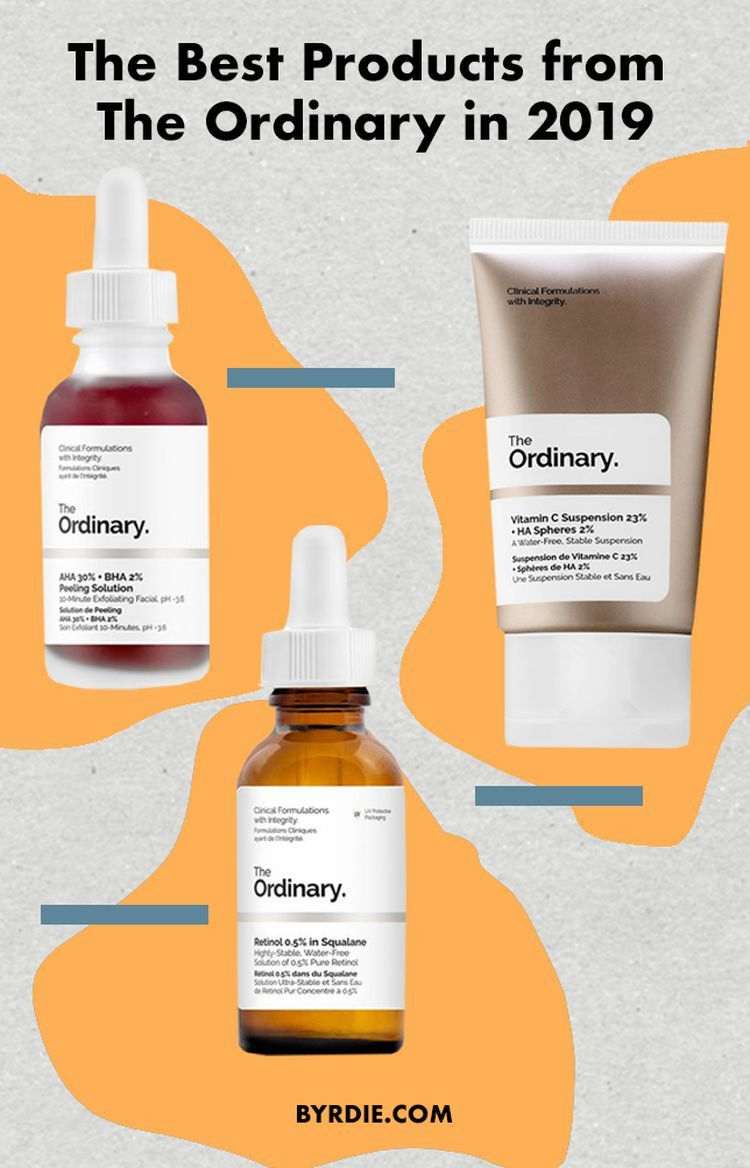 The Best Products From The Ordinary To Stock Up On Stat Body Skin Condition And Treatment The Ordinary Retinol The Ordinary Products