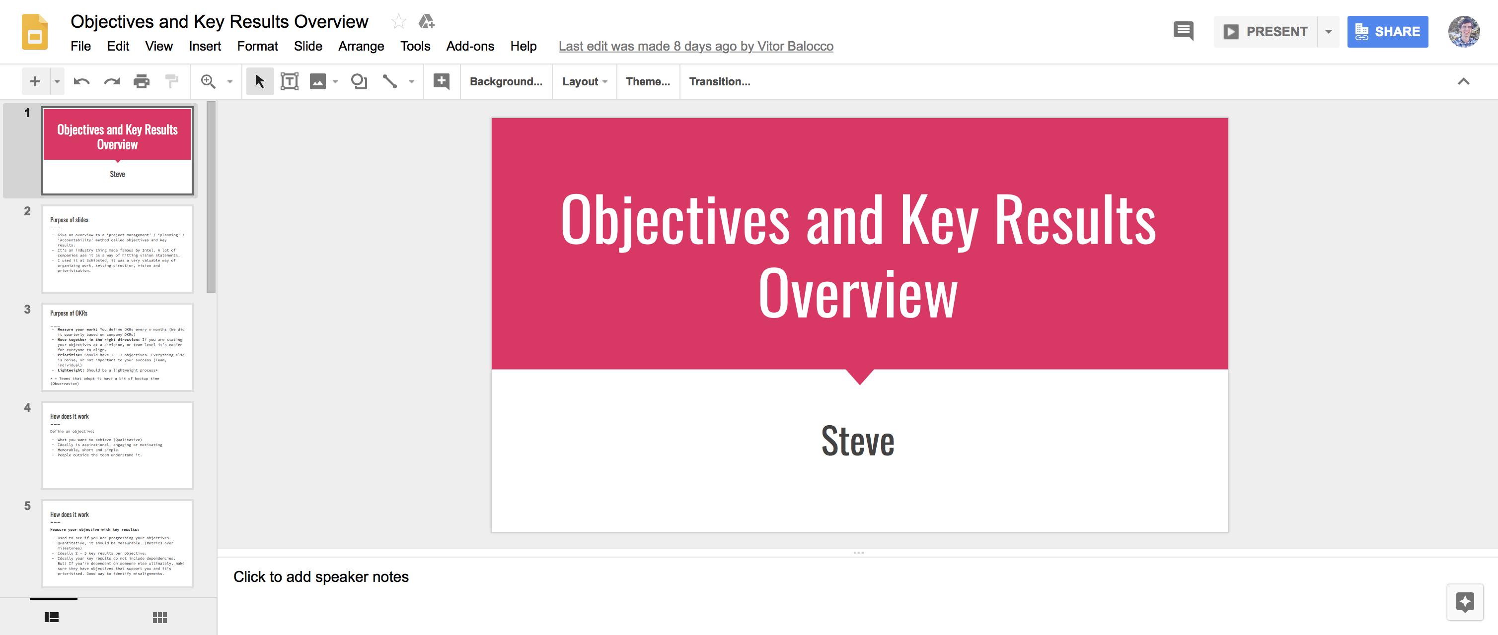 Google Slides Presentation App Slideshow Presentation Good Presentation