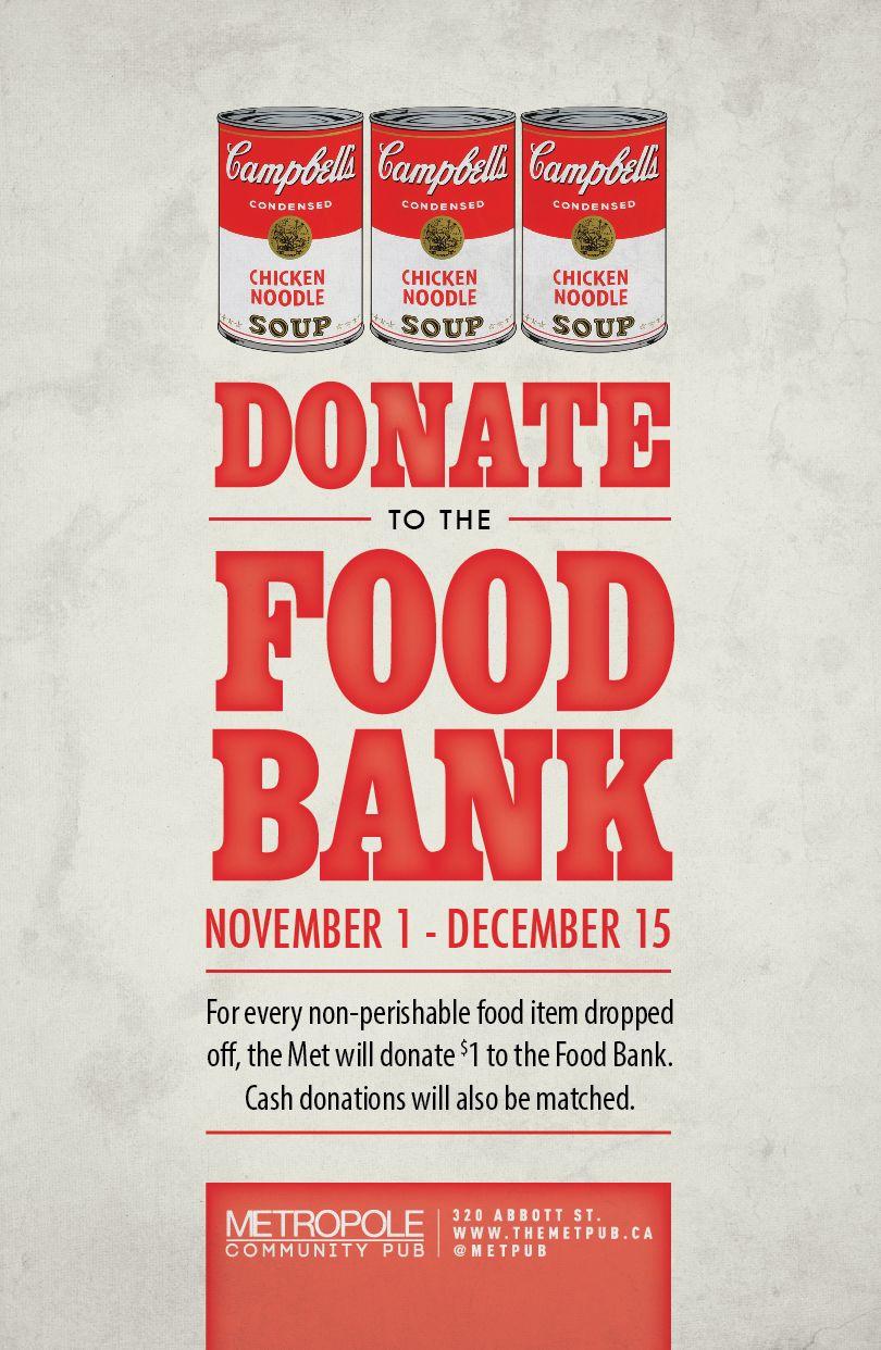 Foodbank Poster 2013 Food drive, Food bank, Food bank
